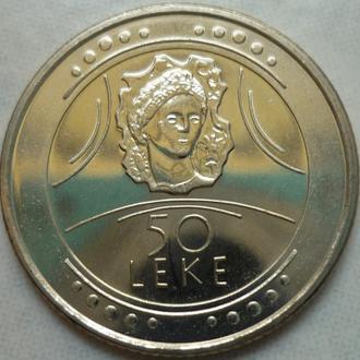 Албания 50 леков 2004 юб. состояние