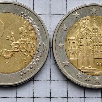 Германия 2 евро, 2010, Бремен