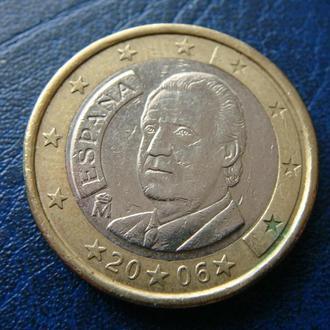 Испания 1 евро 2006