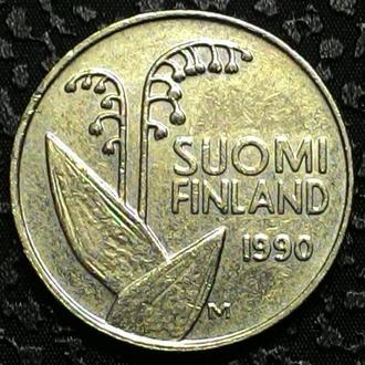 Финляндия 10 пенни 1990 год СОСТОЯНИЕ!!!