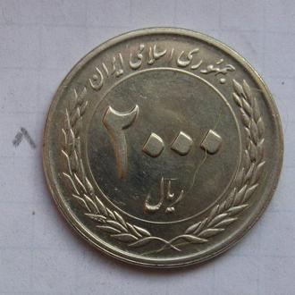 ИРАН 2000 риалов 2010 г. (Центральный банк Ирана. 50-летие).