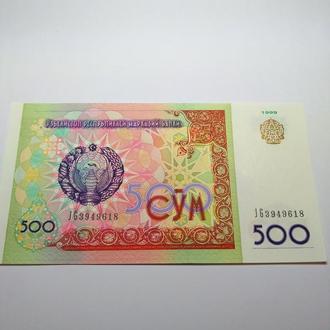 500 сум 2009, Узбекистан, пресс, unc