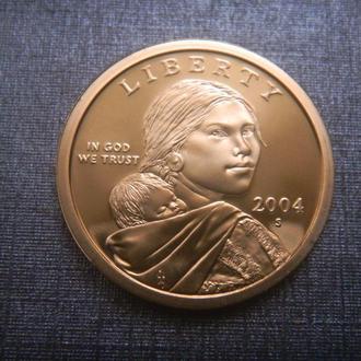 США 1 доллар 2004 S ПРУФ (M5)