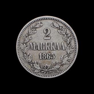 2 Марки 1865,(42) Финляндия