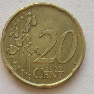 20 Євроцентів 2006 р Португалія 20 Центів 2006 р 20 Евроцентов 2006 г Португалия 20 Центов 2006 г