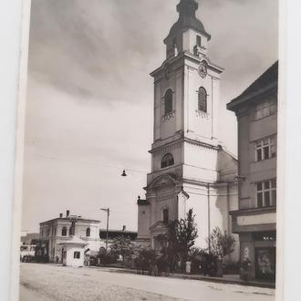 Берегово Реформатская церковь 40 - е гг