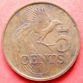 (К1) Тринидад и Тобаго 5 центов 2001