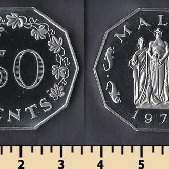 МАЛЬТА 50 ЦЕНТОВ 1976