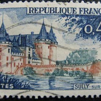 Марка Франция, 0,45, 1961 Tourist Publicity