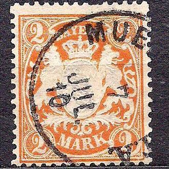 Бавария, немецкие земли, 1911 г., марка № 72