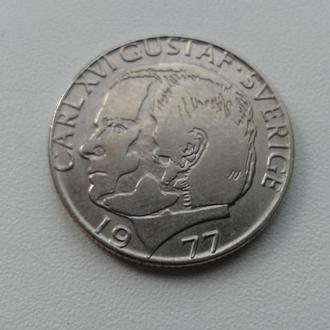 1 крона Швеція 1977