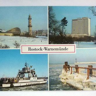 ГДР 1988 Росток Варннмюнде