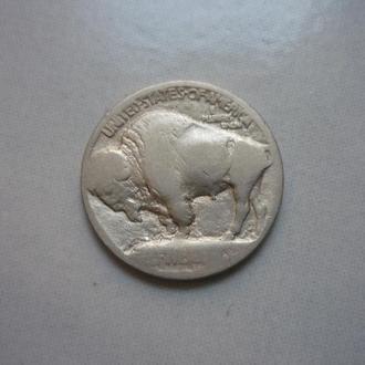 США 5 центов  фауна
