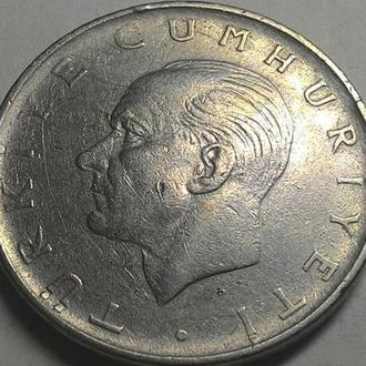Турция 1 лира 1969