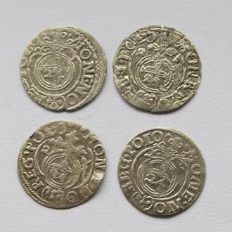 4 шт полтораки Сигизмунд III