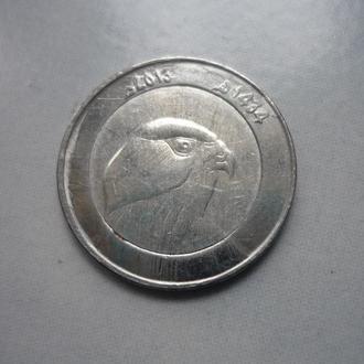 Алжир 10 динаров 2013 фауна биметалл