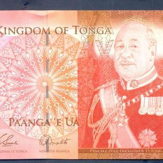 Боны Океания Тонга 2 панги 2009 г.