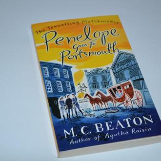 книга на английском the travelling matchmaker Pemnelope Goes to portsmouth M.C. Beaton 2011 год