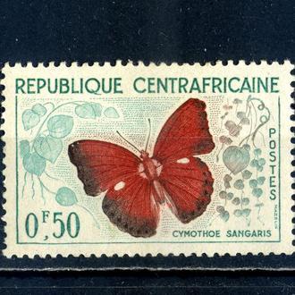 Центральноафриканская р-ка. Бабочки ** 1960 г.