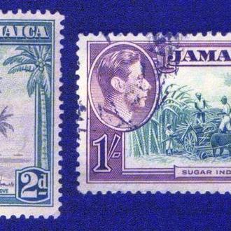 Ямайка (1938) Британская колония. Местные виды