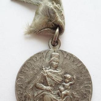 Церковная медаль с родной лентой Европа
