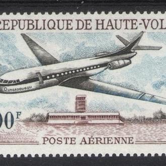 Верхняя Вольта - самолет 1968 - Michel Nr. 236 **