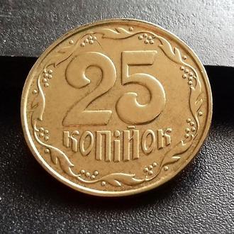MN Украина 25 копеек 2003 г., редкая!