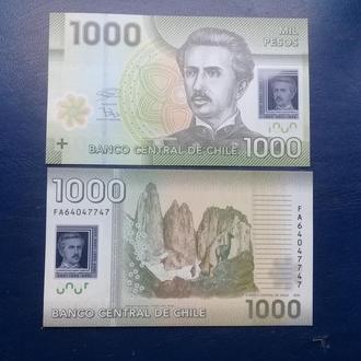 ЧИЛИ 1000 ПЕСОС 2016