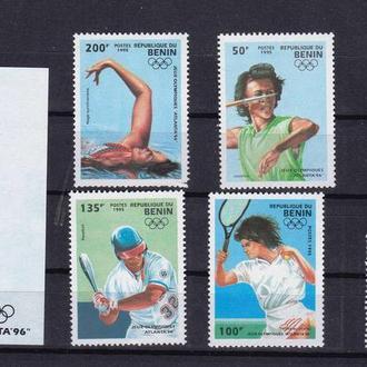 ЛОИ Бенин 1995 г  MNH -