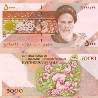 Иран 5000 риал 1993 UNC