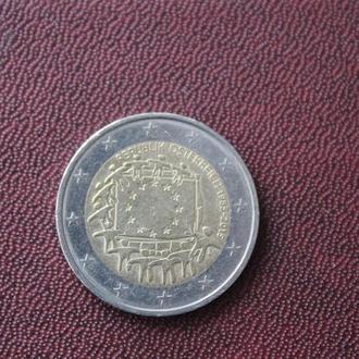 Австрия. 2 еврол. 2015г.