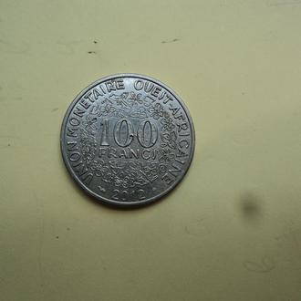 Африка. КФА. 100 франков 2012г.