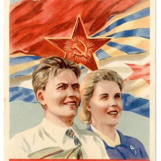Вступайте в ДОСААФ! Голубь Искусство 1949