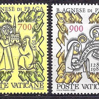 Ватикан**, 1982 г., 700 лет Воскресения святой Агнесской Богоматери