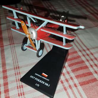 1/72 Amercom WWI Истребитель Fokker Dr.I