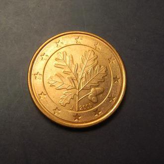 5 євроцентів 2005 J Німеччина
