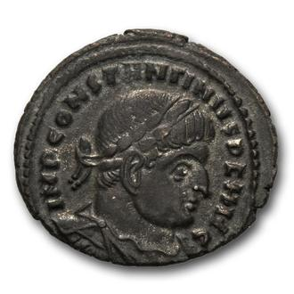 "(А)3441 - Константин I (307—337 г.) Æ Фоллис ""Сол"""