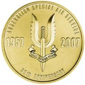 АВСТРАЛИЯ. The Perth Mint. 2007. 1$. Australian Special Air Service.