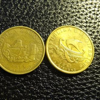 Монети Албанії