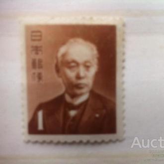 Япония личности барон Хисока Маендзини основатель япон. почты одиночка 1968**