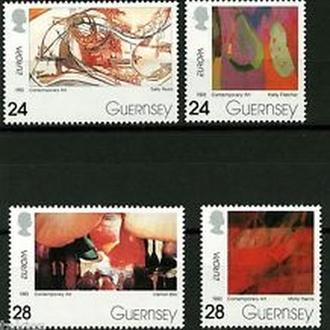 Гернси 1993 EUROPA CEPT Искусство
