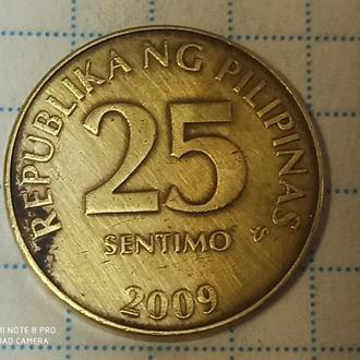 ФИЛИППИНЫ, 25 сантимов 2009