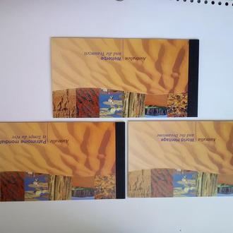 ООН. 1999 г.Серия буклетов  Парки и флора Австралии.