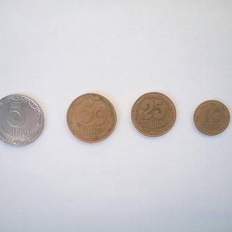 Коллекция монет 1992 года.