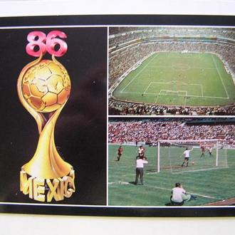 Футбол Мексика ЧМ MEXICO 1986 г.