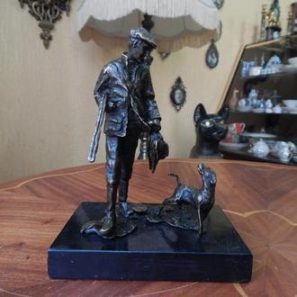 Статуэтка Охотник с собакой