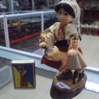 игрушка детская ссср кукла маленькая болгарка молдаванка