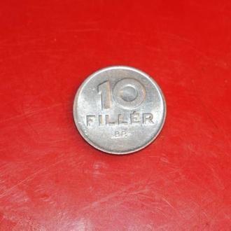10 филлеров 1983 г Венгрия