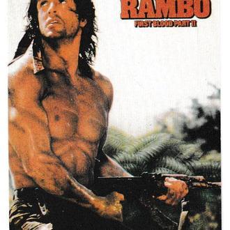 Календарик 1996 Кино, Рэмбо, Rambo, Сильвестр Сталлоне