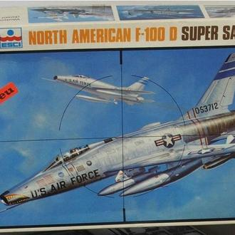 N.A. F-100D Supersabre REVELL 1/48